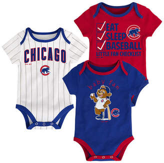 Outerstuff Chicago Cubs Play Ball 3-Piece Set, Infants (12-24 Months)