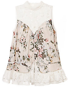 Zimmermann Aerial Sleeveless Smock Top $495 thestylecure.com