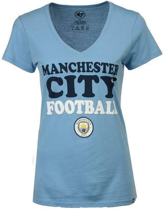 '47 Women's Manchester City Club Team Wordmark T-Shirt