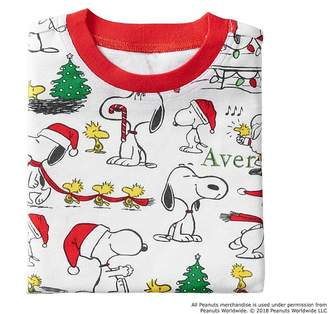 Pottery Barn Kids Snoopy® Cotton Tight Fit Pajama, 2T