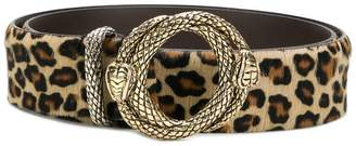 Just Cavalli leopard print belt