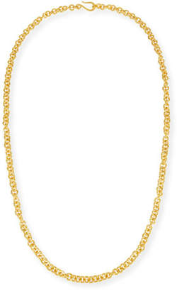 Dina Mackney Hill Tribe Chain Necklace, 38""
