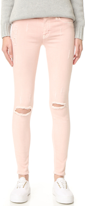 Hudson Nico Mid Rise Super Skinny Jeans $195 thestylecure.com