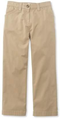 L.L. Bean L.L.Bean Easy-Stretch Pants, Twill Cropped