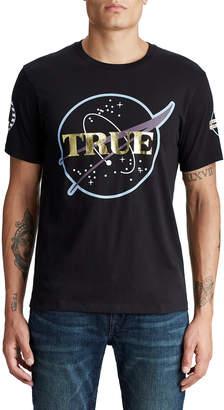 True Religion MENS ASTRO CREW GRAPHIC TEE