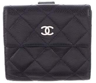 Chanel Caviar Compact Wallet
