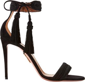 Aquazzura Shanty Tassel High Sandals