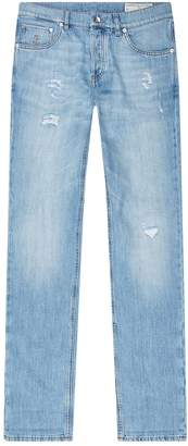 Brunello Cucinelli Distressed Jeans