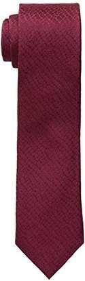 Calvin Klein Men's Croco Solid Skinny Tie