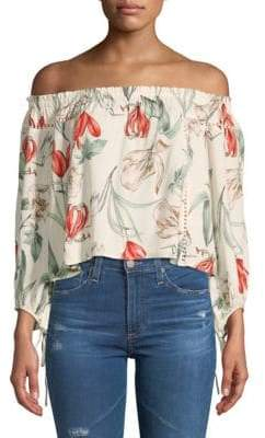 ASTR the Label Chavelle Off-The-Shoulder Top