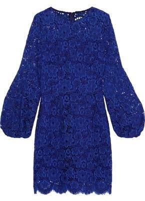 Elie Tahari Shayla Cotton-blend Lace Mini Dress