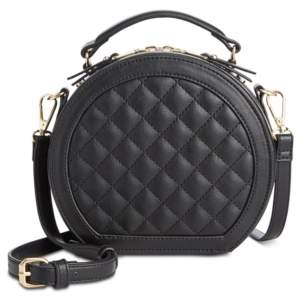 INC International Concepts I.n.c. Rilie Quilted Circle Top-Handle Crossbody, Created for Macy's