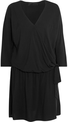 Hatch - The Brunch Poplin Dress - Black $238 thestylecure.com