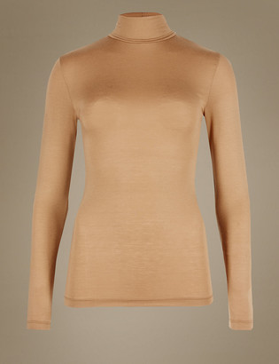 Marks and Spencer Heatgen Thermal Polo Neck Top