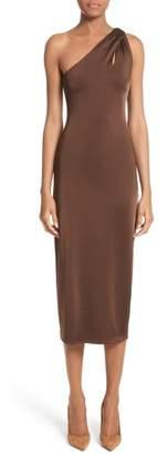Cushnie et Ochs Jersey One-Shoulder Dress