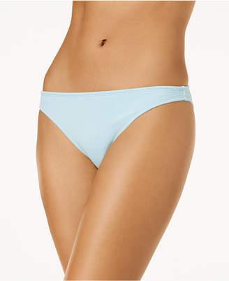 California Waves Juniors' Ribbed Bikini Bottoms, Created for Macy's