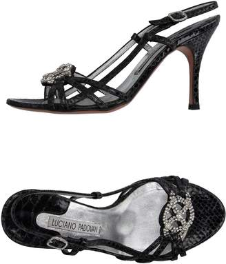 LUCIANO PADOVAN Sandals $275 thestylecure.com