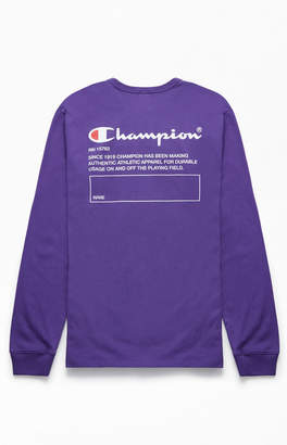 Champion Heritage Name Long Sleeve T-Shirt