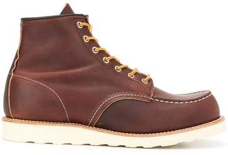 Red Wing Shoes lace-up ankle boots