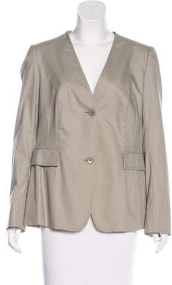 Akris Punto Collarless Long Sleeve Blazer w/ Tags