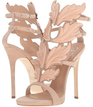 Giuseppe Zanotti Suede Winged Sandal $1,595 thestylecure.com