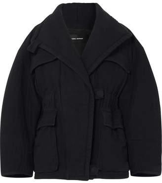 Isabel Marant Emmett Cotton Jacket - Black