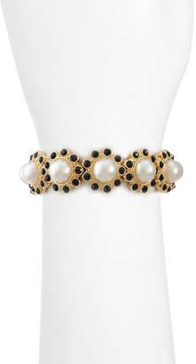 MONET JEWELRY Monet Jewelry Womens Black Stretch Bracelet