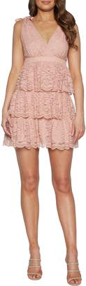Bardot Roxie Lace Party Minidress