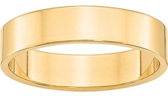 Generic 10KY 5mm LTW Flat Band Size 7
