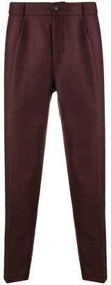 Haikure high waist tailored trousers