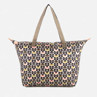 Orla Kiely Women's Zip Shopper Bag - Printed Daisy