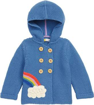 Boden Mini Knit Rainbow Jacket