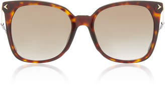 Givenchy Sunglasses Oversized Tortoise Square Sunglasses