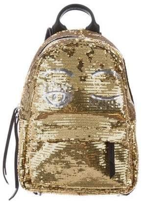 Chiara Ferragni Glitter Flirting Backpack w/ Tags
