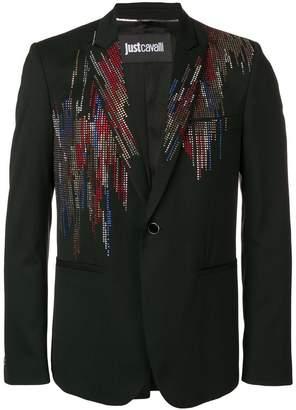 Just Cavalli crystal embellished blazer