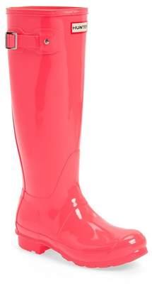 Hunter Tall Glossy Waterproof Rain Boot