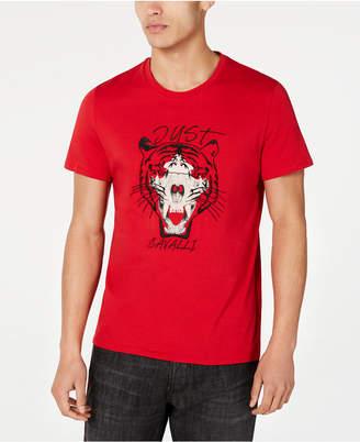 Just Cavalli Men Tiger Graphic T-Shirt