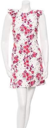 Giamba Star and Floral Print Quilted Dress w/ Tags