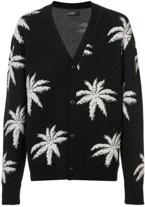 Amiri Palm cardigan