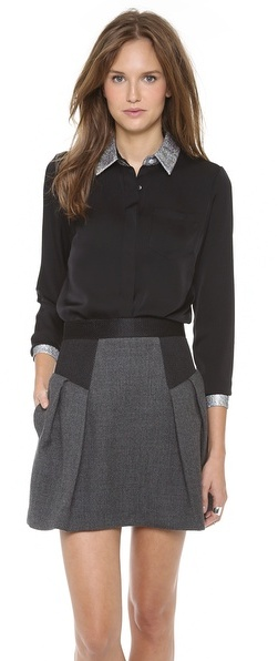 Milly Baby Collar Blouse