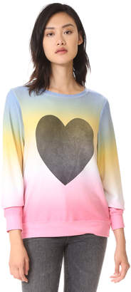Wildfox Perfect Heart Baggy Sweatshirt $108 thestylecure.com