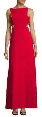 Jill Stuart Cutout Bateauneck Gown