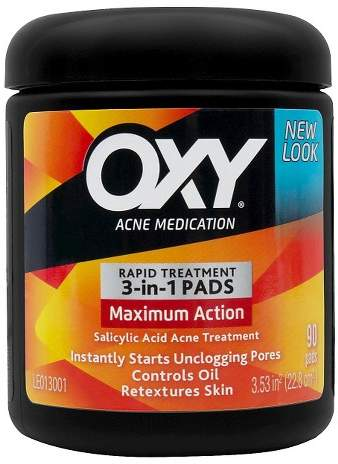 Oxy Maximum Action Cleansing Pads - 90ct