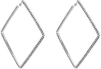 Area Women's Oversized Square Hoop Earrings