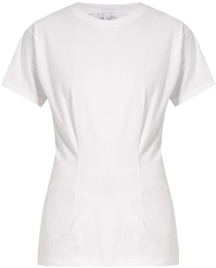 RAEY Darted cotton T-shirt