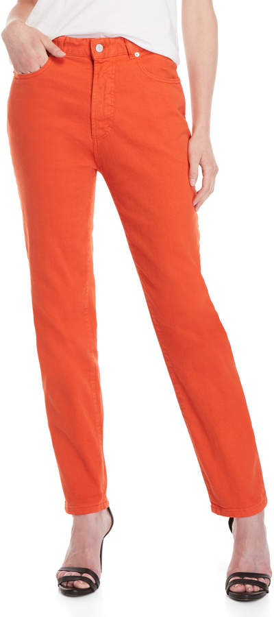 Fiorucci Orange Classic Tapered Jeans