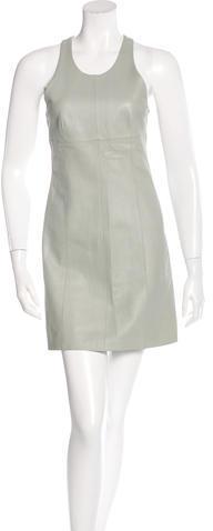 Alexander WangT by Alexander Wang Leather Mini Dress