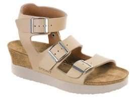 Birkenstock Linnea Suede Ankle-Strap Sandals