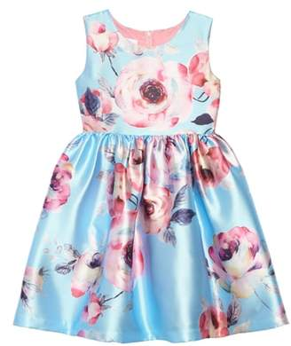 Frais Floral Fit & Flare Party Dress