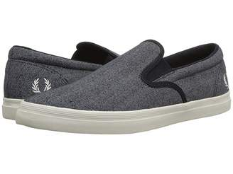 Fred Perry Underspin Slip-On Printed Canvas